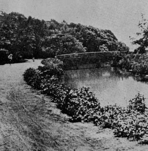 古写真:大正時代の駒塚橋