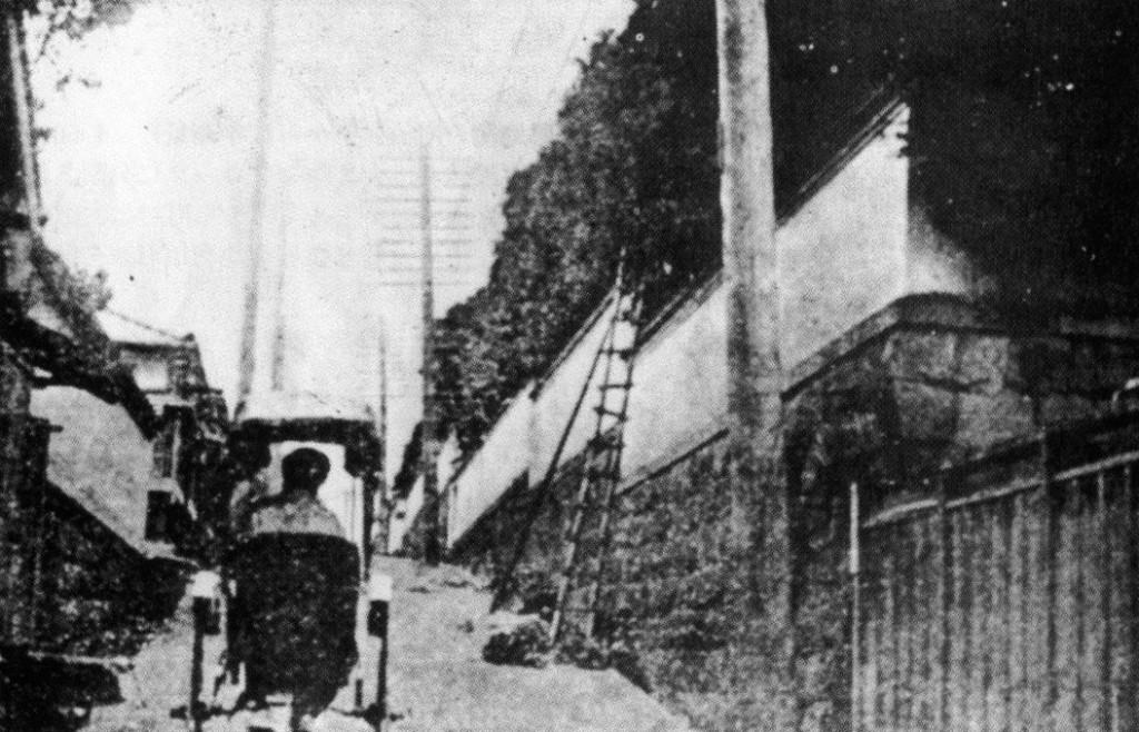 古写真:浄瑠璃坂