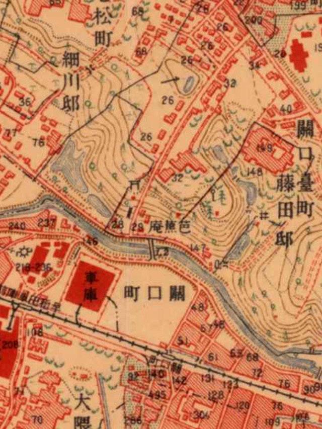 大正時代の駒塚橋