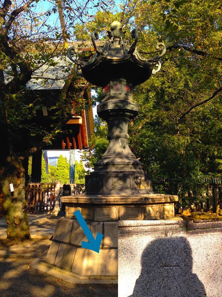 靖国神社の大燈篭