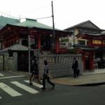 新宿区神楽坂毘沙門天の几号水準点