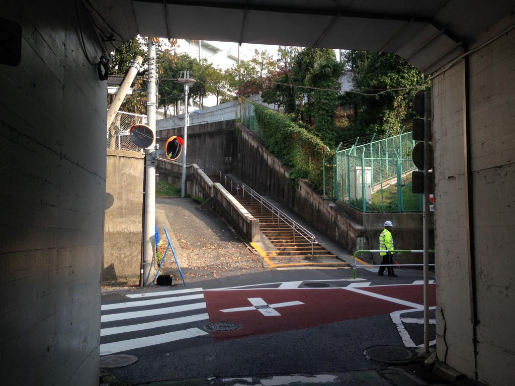 隧道からみたキリシタン坂