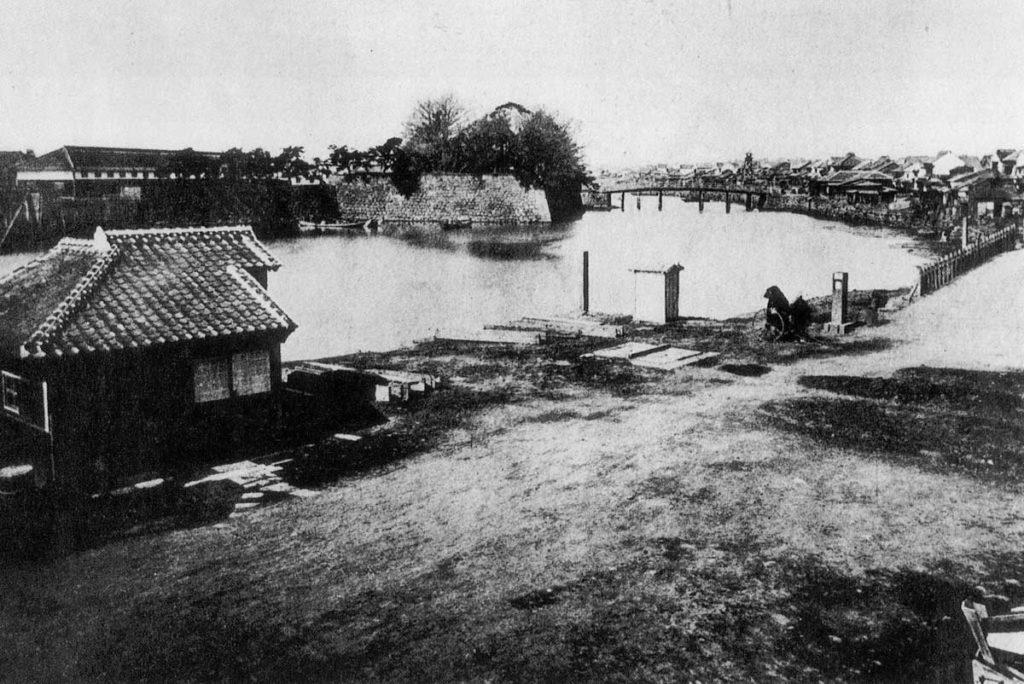 古写真:一石橋