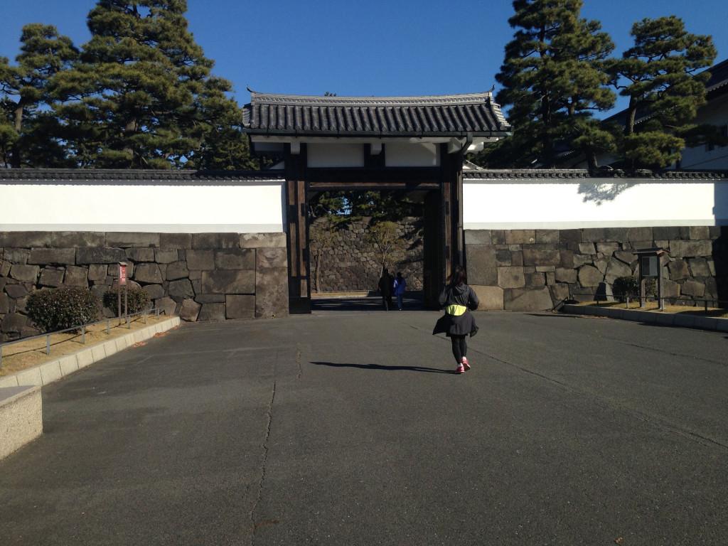 皇居周回ランニングコース(桜田門)