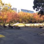 千代田区日比谷公園にある2つの几号水準点