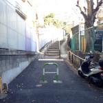 文京区八幡坂と今宮神社