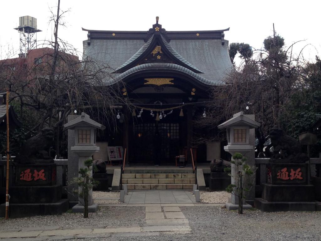 牛天神(北野神社)