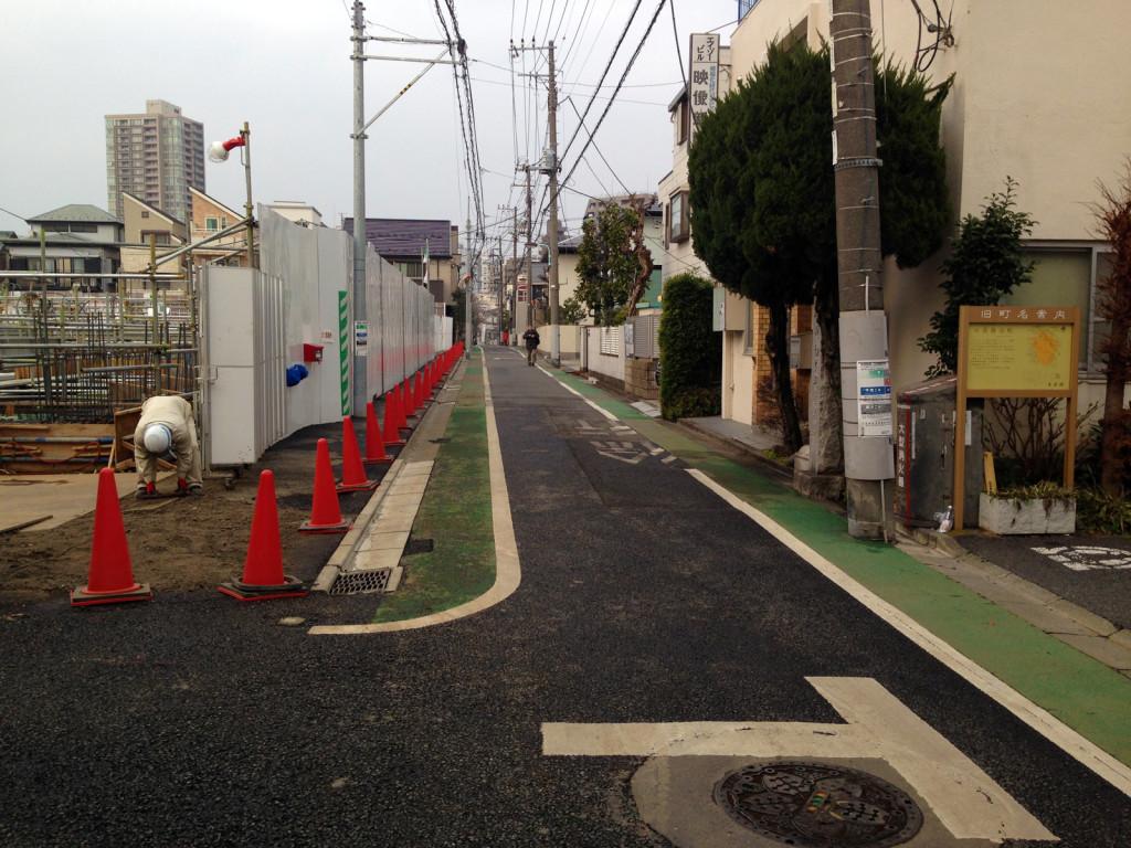 七軒屋敷新道