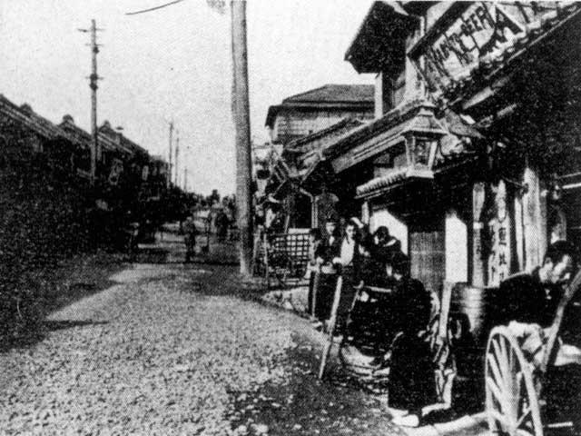 古写真:明治の神楽坂