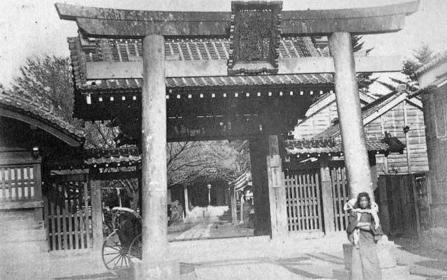 古写真:明治の赤城神社