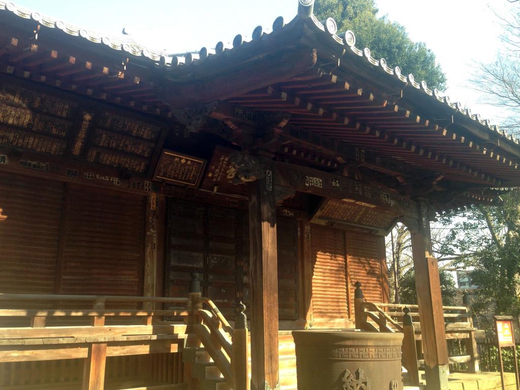 護国寺太子堂