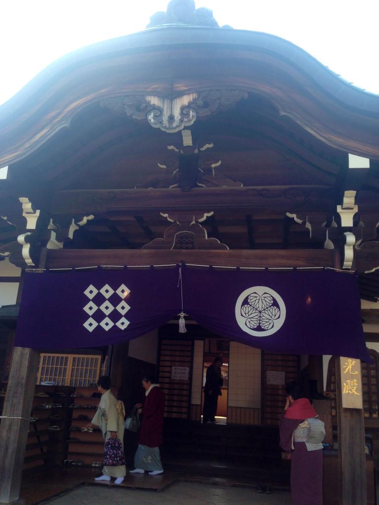 普通に使われている重要文化財の月光殿