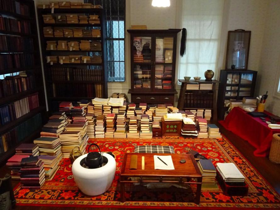 漱石の書斎