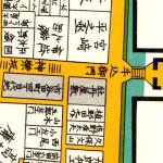 古地図:牡丹屋敷(神楽坂)