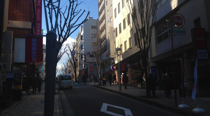 神楽坂と漱石先生