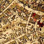 古地図:藁店周辺