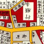 古地図:行元寺(神楽坂)