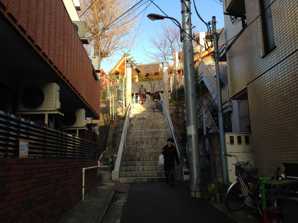 赤城神社の裏門