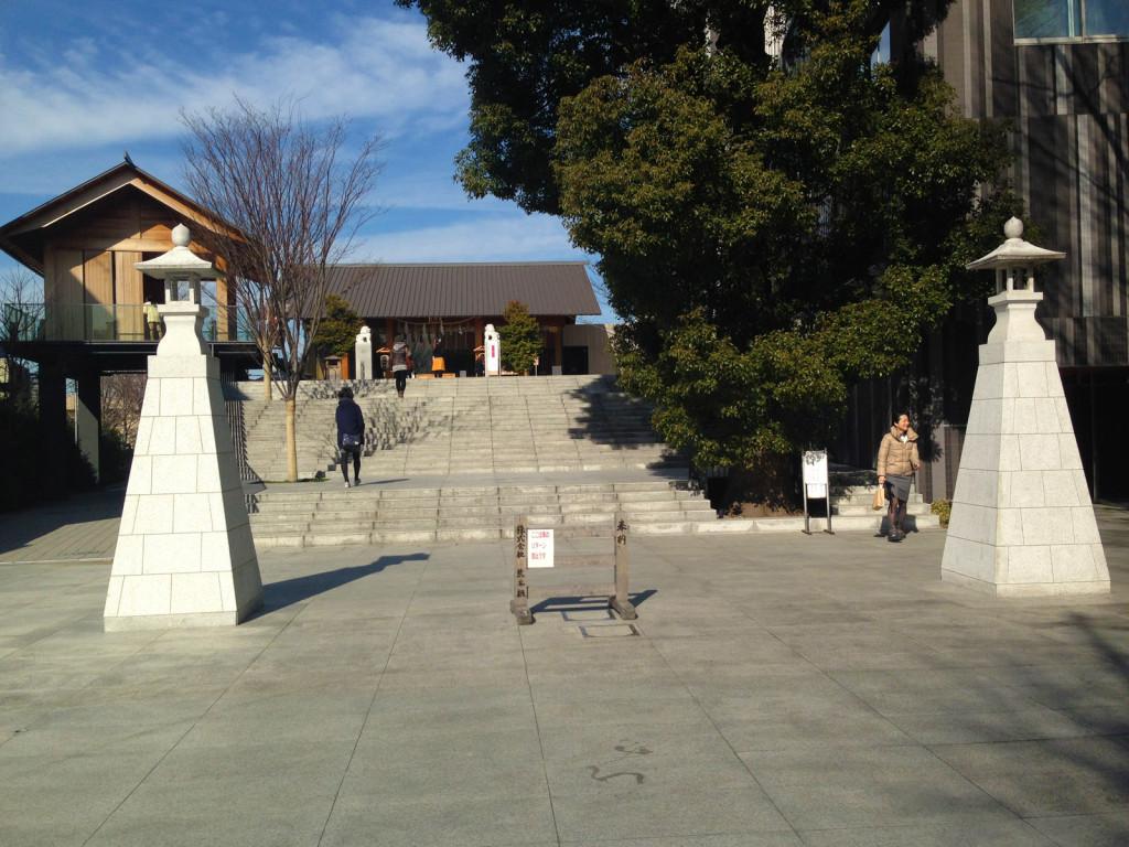 近代的になった赤城神社