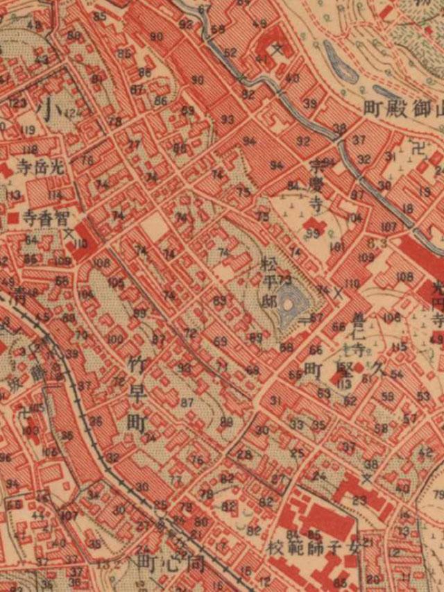 大正時代の地図