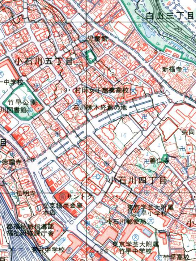 昭和の終わりの地図