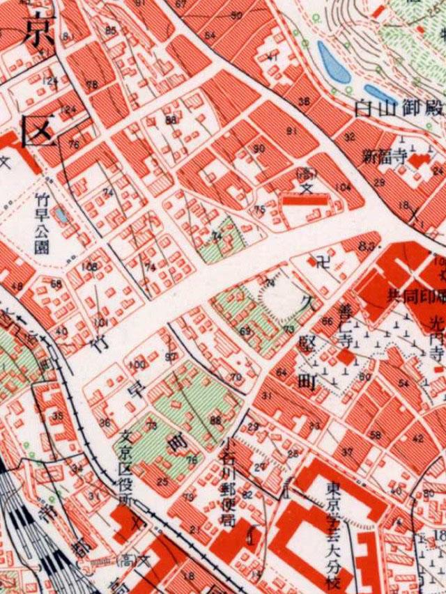 昭和30年代の地図