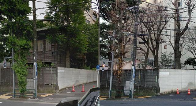 成瀬仁蔵氏の旧宅