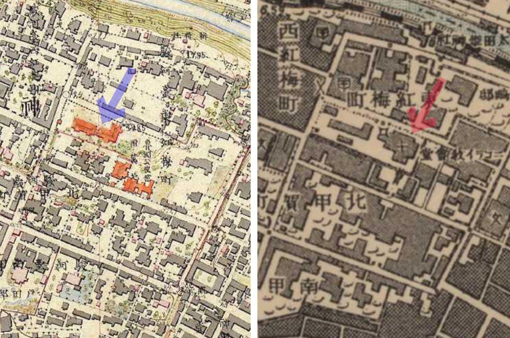 ニコライ堂古地図