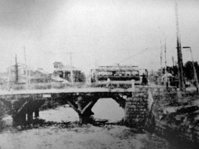 古写真:舟河原橋