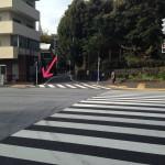 新宿区大京町の几号水準点