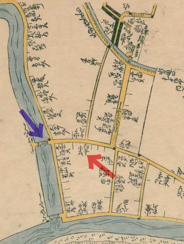 延寳8年(1680年)表紙屋江戸方角安見図鑑