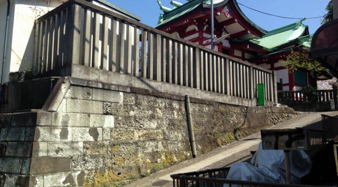 筑土八幡石垣