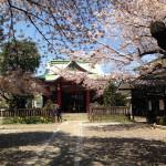 新宿区御殿坂と筑土八幡神社