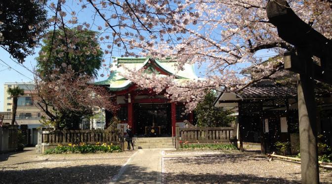 新宿区の御殿坂と筑土八幡神社(前編)