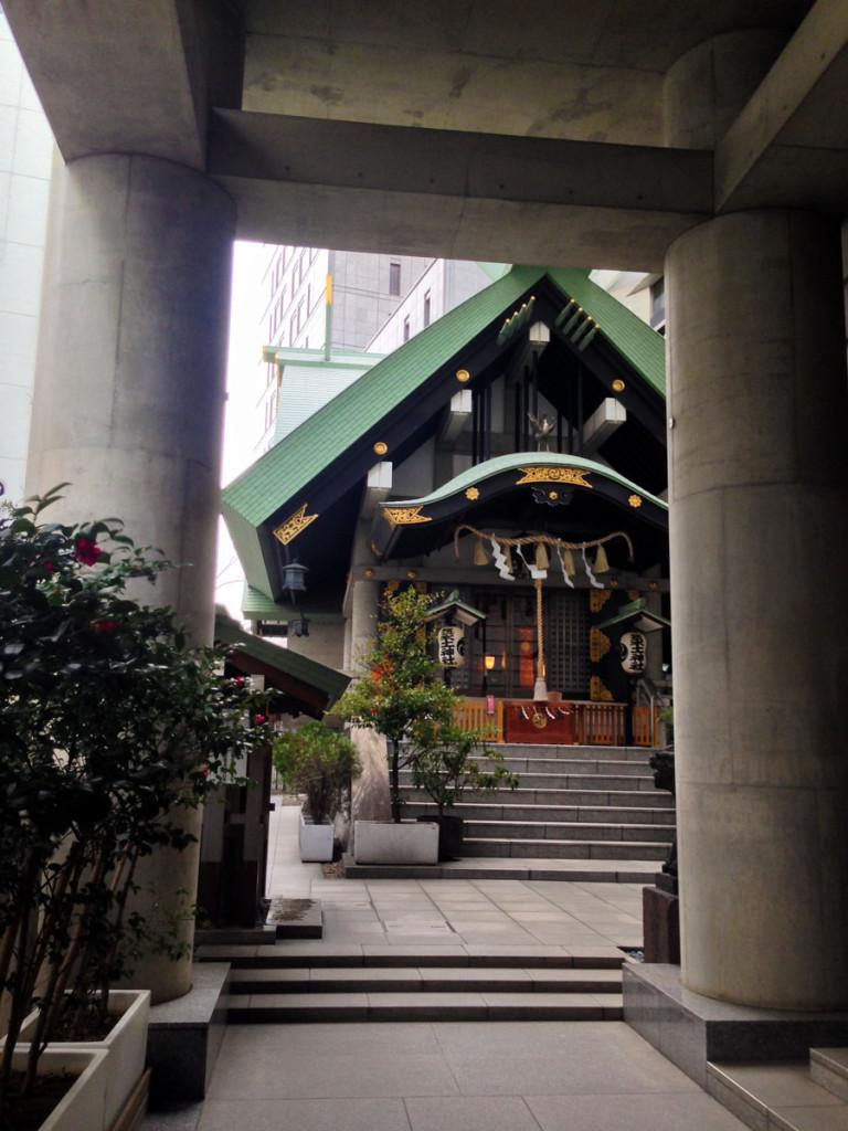中坂の筑土神社