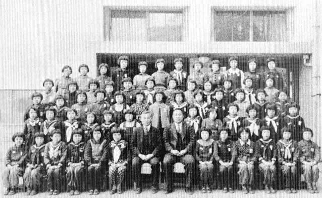 古写真:昭和19年の黒田国民学校