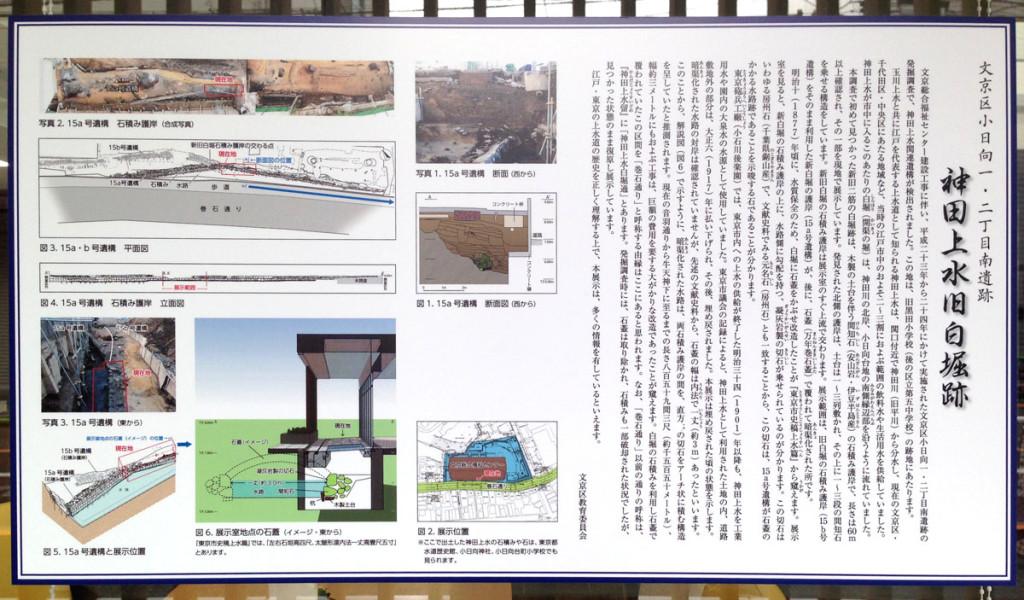神田上水旧白堀跡