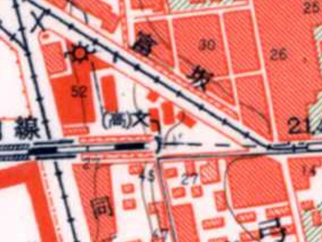 昭和30-35年1万分の1地形図