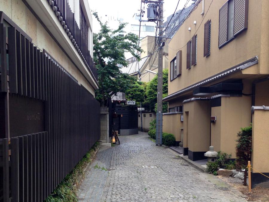 軽子坂から兵庫横丁へ