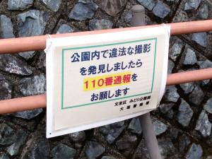 大塚坂下町公園の看板