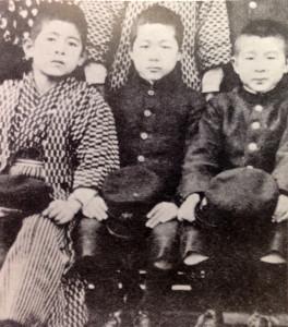 古写真:男子小学生