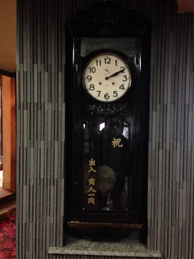 朝陽館本家大時計