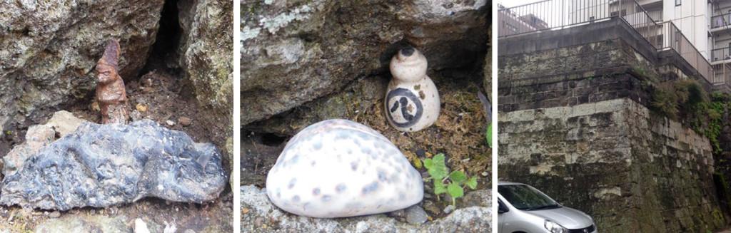 傘谷坂の謎のお像