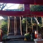 椿山荘の白玉稲荷