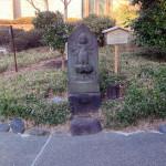 分岐点の庚申塔
