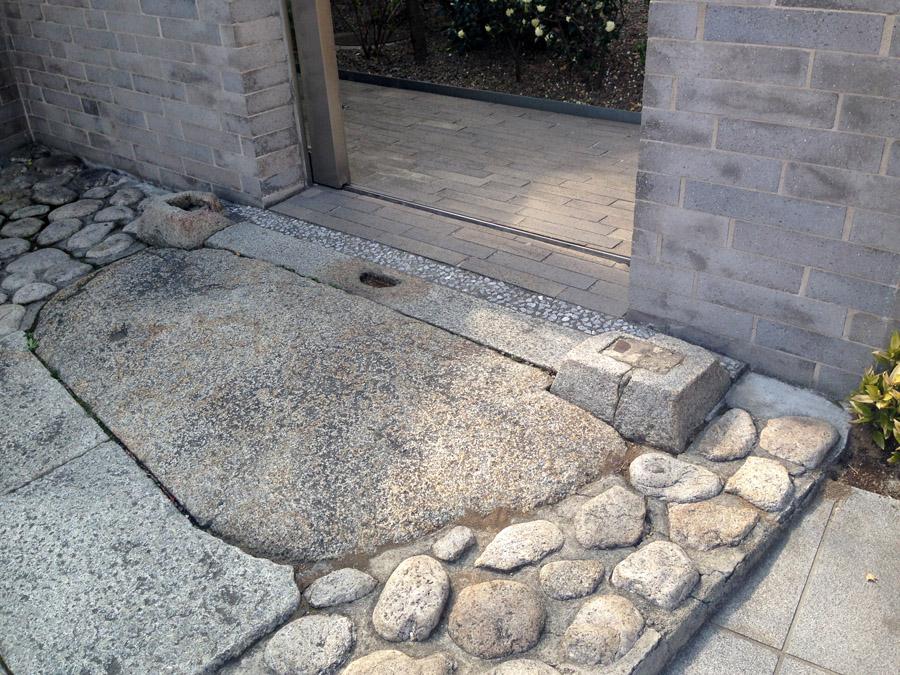 観潮楼門跡