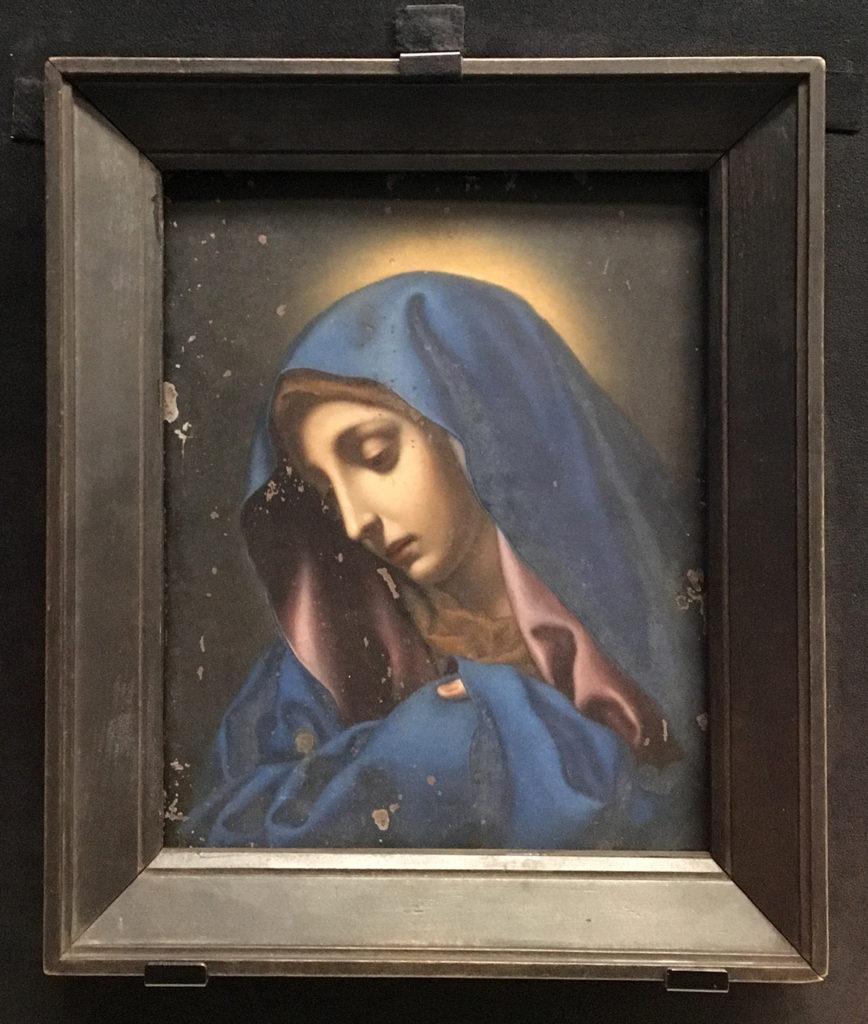 シドッチ神父の所持品だった「親指のマリア」。今は国の重要文化財。