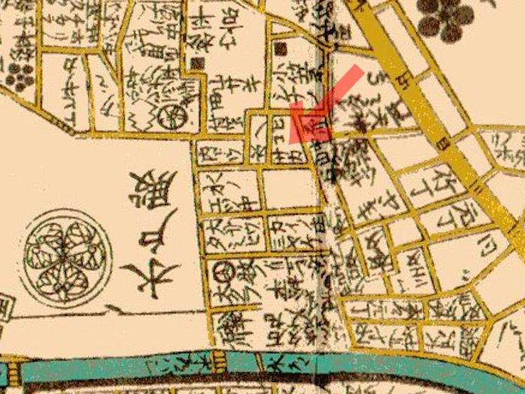 古地図:文化江戸図(1811年)