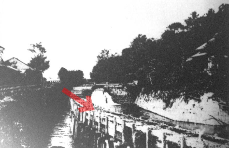 古写真:慶喜公が撮った関口。