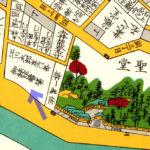 古地図:湯島大小砲鋳立場